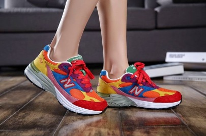 Women WR993 New Balance Multicolor Rainbow Sneakers_9